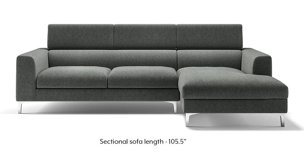 Chelsea Adjustable Sectional Sofa Grey Urban Ladder