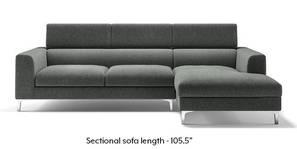 Chelsea Adjustable Sectional Sofa (Grey)