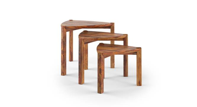 Clapton Nested Table (Teak Finish) by Urban Ladder