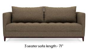 Florence Compact Sofa (Dune Brown)