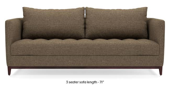Florence Compact Sofa (Dune Brown) (Dune, Fabric Sofa Material, Compact Sofa Size, Regular Sofa Type)