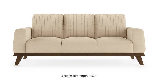 Granada Sofa (Pearl White) (Pearl, 1-seater Custom Set - Sofas, None Standard Set - Sofas, Fabric Sofa Material, Regular Sofa Size, Regular Sofa Type)