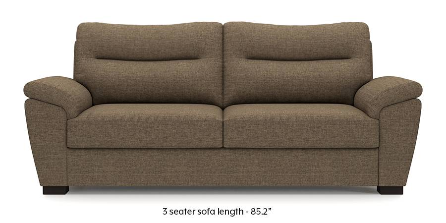 Adelaide Sofa (Dune Brown) (Dune, Fabric Sofa Material, Regular Sofa Size, Regular Sofa Type) by Urban Ladder - - 173209