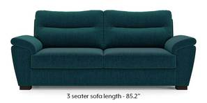 Adelaide Sofa (Malibu Blue)