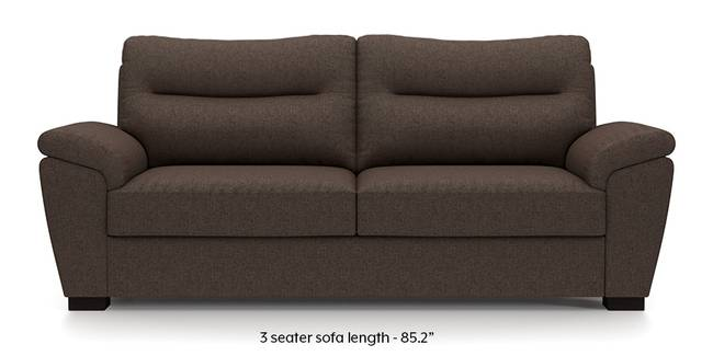 Adelaide Sofa (Mocha Brown) (Mocha, Fabric Sofa Material, Regular Sofa Size, Regular Sofa Type)