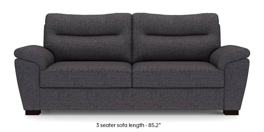 Adelaide Sofa (Steel Grey) (Steel, Fabric Sofa Material, Regular Sofa Size, Regular Sofa Type) by Urban Ladder