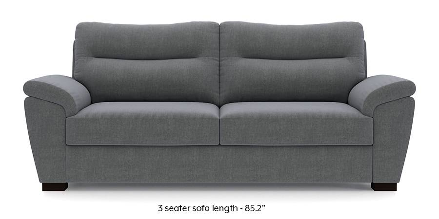 Adelaide Sofa (Smoke Grey) (Smoke, Fabric Sofa Material, Regular Sofa Size, Regular Sofa Type) by Urban Ladder - - 173223