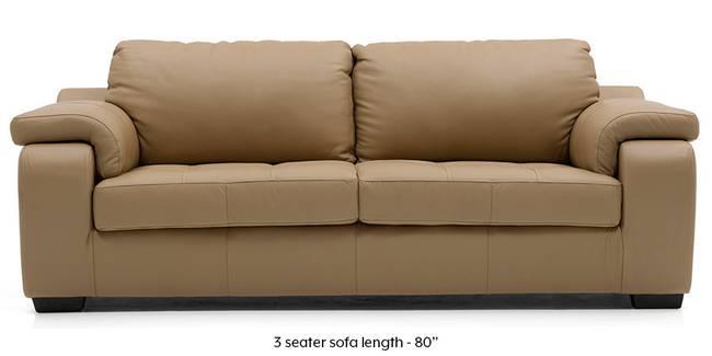 Trissino Sofa (Camel Italian Leather) (Camel, Regular Sofa Size, Regular Sofa Type, Leather Sofa Material)