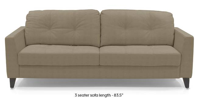 Franco Sofa (Cappuccino Italian Leather) (Cappuccino, Regular Sofa Size, Regular Sofa Type, Leather Sofa Material)