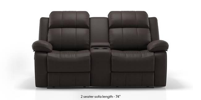 Robert Home Theatre Rocker Recliner Sofa Set (Chocolate Leatherette) (1-seater Custom Set - Sofas, None Standard Set - Sofas, Leatherette Sofa Material, Regular Sofa Size, Regular Sofa Type, Chocolate Leatherette)