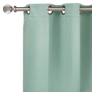 "Umbra Blackout Curtain - Set Of 2 (Aqua, 54"" x 108"" Curtain Size) by Urban Ladder"