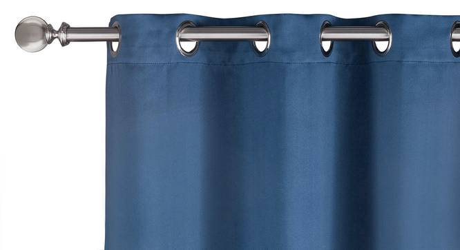 """Umbra Blackout Curtain - Set Of 2 (Navy, 54"""" x 108"""" Curtain Size) by Urban Ladder"""