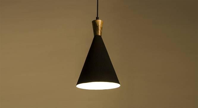 Sokoto Hanging Lamp (Black Shade Finish) by Urban Ladder