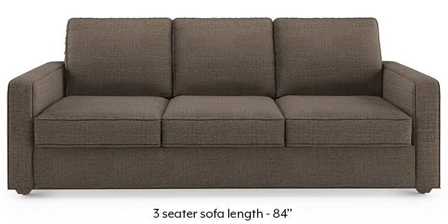 Apollo Sofa Set (Fabric Sofa Material, Regular Sofa Size, Soft Cushion Type, Regular Sofa Type, Master Sofa Component, Pine Brown, Regular Back Type, Regular Back Height)