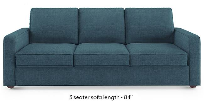 Apollo Sofa Set (Fabric Sofa Material, Regular Sofa Size, Soft Cushion Type, Regular Sofa Type, Master Sofa Component, Colonial Blue, Regular Back Type, Regular Back Height)