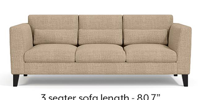 Lewis Sofa (Fabric Sofa Material, Regular Sofa Size, Soft Cushion Type, Regular Sofa Type, Master Sofa Component, Sandshell Beige)
