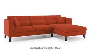 Lewis Sectional Sofa (Lava)