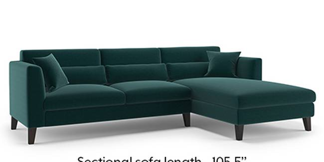 Lewis Sofa (Fabric Sofa Material, Regular Sofa Size, Malibu, Soft Cushion Type, Sectional Sofa Type, Sectional Master Sofa Component)