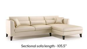 Lewis Sectional Sofa (Pearl)