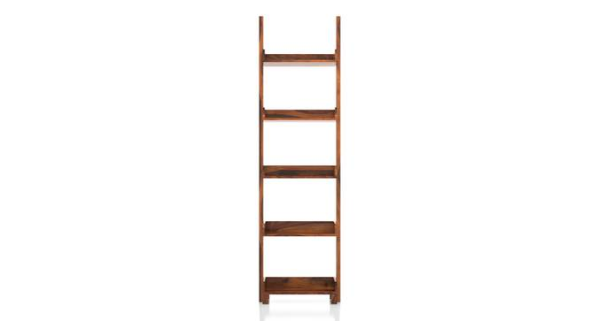 Austen Bookshelf/Display Unit (45-book capacity) (Teak Finish) by Urban Ladder - Front View Design 1 - 186941