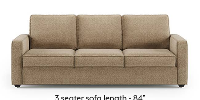 Apollo Sofa Set (Fabric Sofa Material, Regular Sofa Size, Soft Cushion Type, Regular Sofa Type, Master Sofa Component, Safari Brown, Regular Back Type, Regular Back Height)