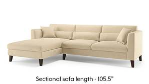 Lewis Sectional Sofa (Birch Beige)