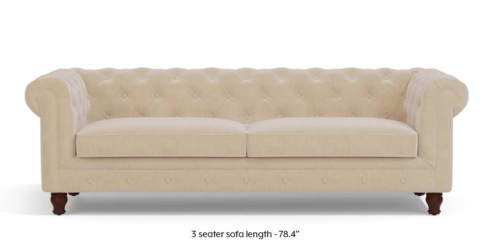 Winchester Fabric Sofa (Birch Beige) by Urban Ladder