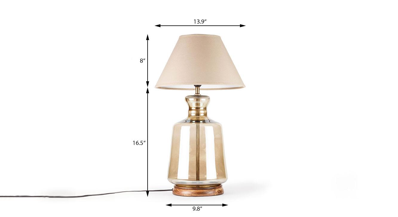 Garissa table lamp corrected dimension image