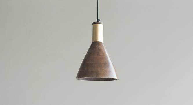 Redding Hanging Lamp (Light Walnut Finish) by Urban Ladder