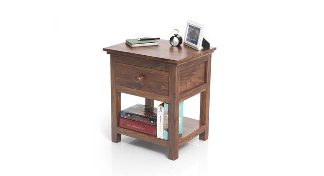 Snooze Bedside Table (Teak Finish) by Urban Ladder - - 19