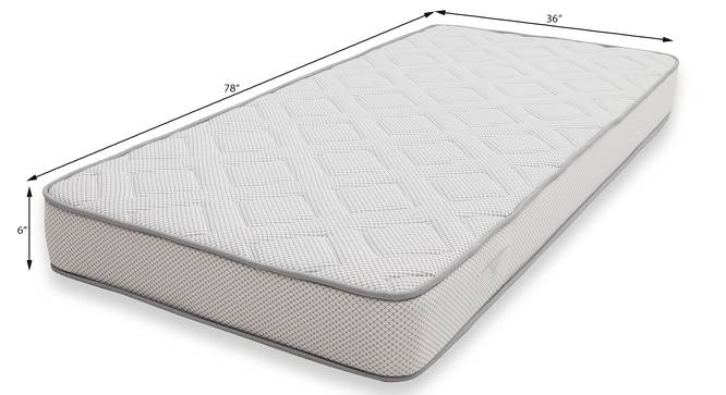 Theramedic Memory Foam Mattress with Latex (Single Mattress Type, 78 x 36 in (Standard) Mattress Size, 6 in Mattress Thickness (in Inches)) by Urban Ladder - Design 1 Template - 190132