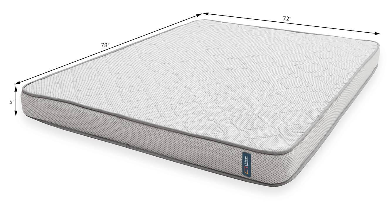 Theramedic memory foam mattress with pcm 5in 7