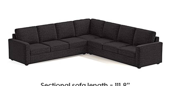 Apollo Sofa Set (Cosmic, Fabric Sofa Material, Regular Sofa Size, Soft Cushion Type, Corner Sofa Type, Corner Master Sofa Component, Regular Back Type, Regular Back Height)
