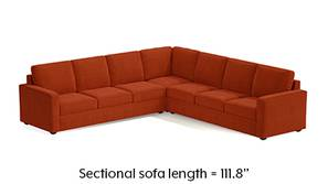 Apollo Corner Sofa (Lava)