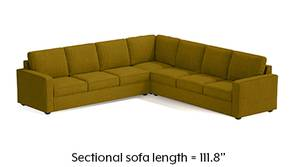 Apollo Corner Sofa (Olive Green)