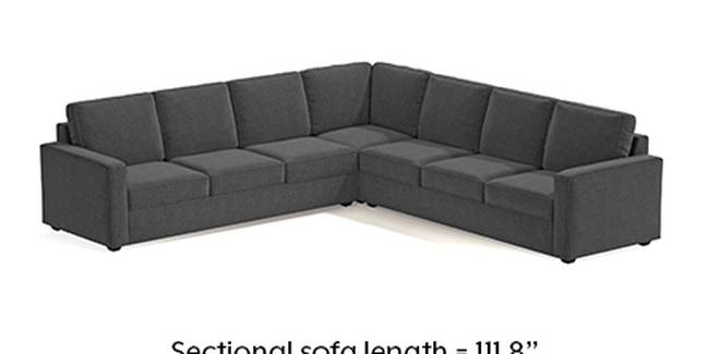 Apollo Sofa Set (Steel, Fabric Sofa Material, Regular Sofa Size, Soft Cushion Type, Corner Sofa Type, Corner Master Sofa Component, Regular Back Type, Regular Back Height)
