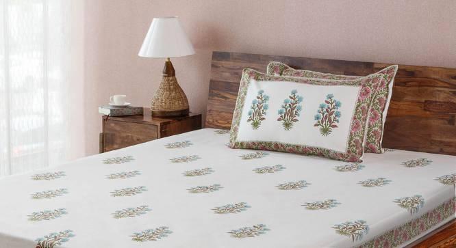Lorea Bedsheet Set (Double Size, Multi Colour) by Urban Ladder