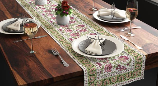"Ayana Table Runner (12"" x 70"" Table Linen Size, Multi Colour) by Urban Ladder"