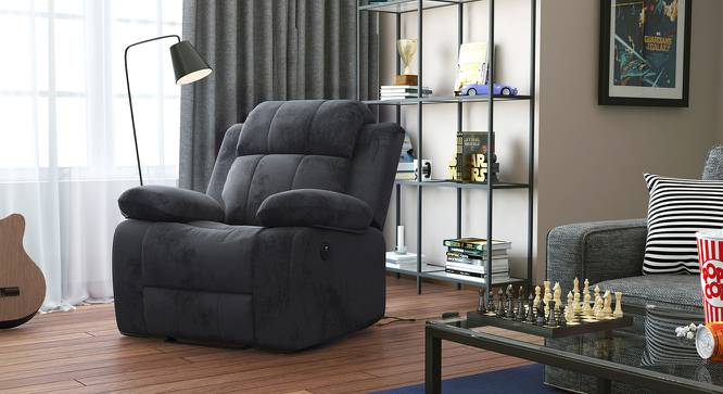 Robert Motorized Recliner (Grey Fabric) by Urban Ladder