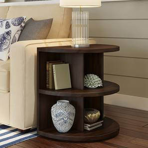 Newton Side Table (Mahogany Finish) by Urban Ladder - Design 1 Full View - 195581