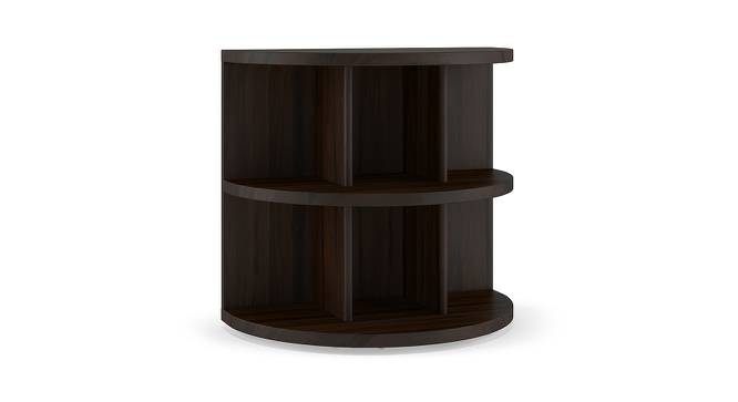 Newton Side Table (Mahogany Finish) by Urban Ladder - Front View Design 1 - 195582
