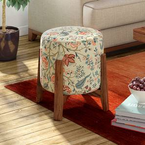 Nicole stool (Calico Pattern) by Urban Ladder