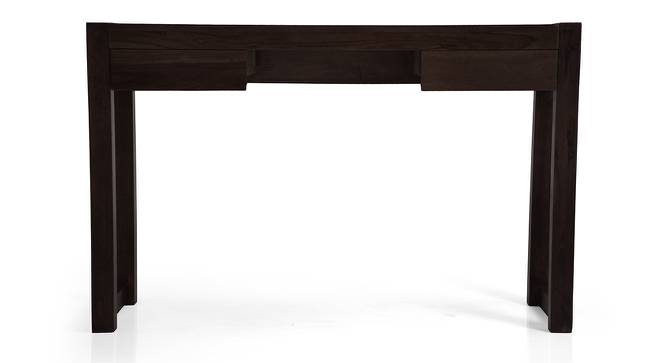 Austen - Venturi Study Set (Mahogany Finish, Carbon Black) by Urban Ladder - Design 1 Full View - 195776