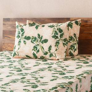 Bloomingdale Bedsheet Set (Double Size, Decora Pattern) by Urban Ladder