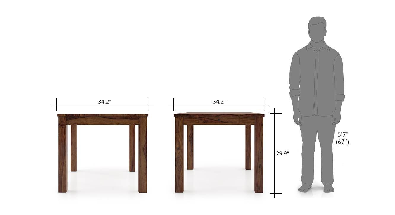 Arabia storage kerry 4 seater dining table set tk bo 8