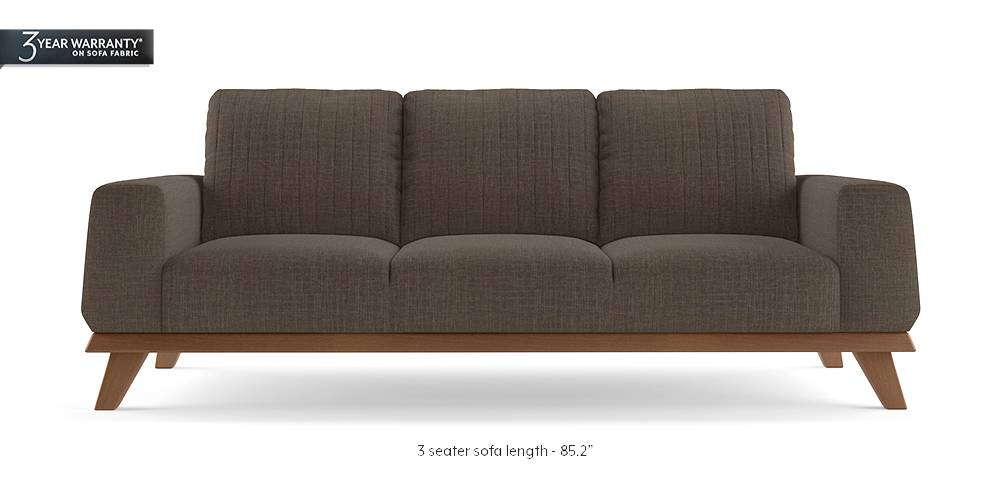 Granada Sofa (Pine Brown) by Urban Ladder
