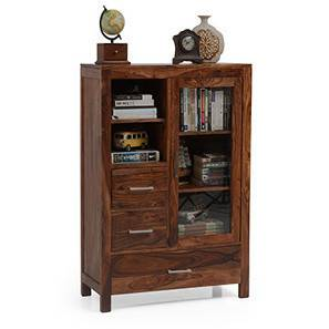 Carnegie Cabinet (Teak Finish) by Urban Ladder - - 19828