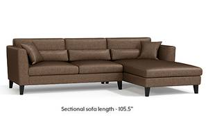Lewis Sectional Sofa (Mocha)