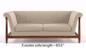 Malabar Wooden Sofa (Macadamia Brown)