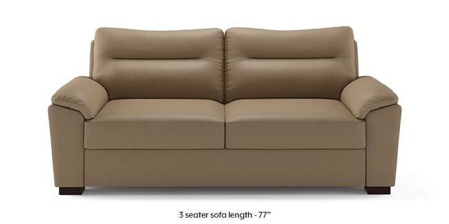 Adelaide Compact Leatherette Sofa (Cappuccino) (2-seater Custom Set - Sofas, None Standard Set - Sofas, Cappuccino, Leatherette Sofa Material, Compact Sofa Size, Soft Cushion Type, Regular Sofa Type)